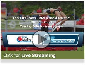 Live Streaming - Cork City Sports 2014