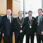 Mark McManus, Tony O'Connell, Chris O'Leary (Lord Mayor, Cork City Council),Kevin Conway (Deputy Lord Mayor, Cork County Council), Bill Allen (Chairman Cork Athletics) & Ted Owens (CEO at CETB)