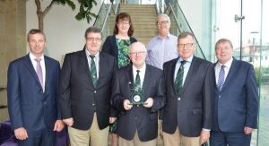 Chairman of Cork City Sports Honoured With Person of the Month Award